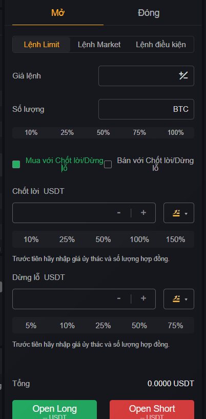giao dịch sàn bybit